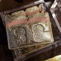 セール!Tory Burch ★ SCALLOP T METALLIC CARD CASE