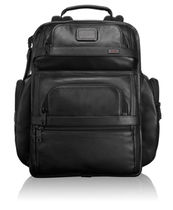 Tumi Alpha 2 T-Pass Business Class Leather Brief Pack