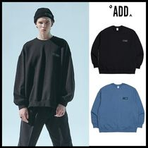 ☆add☆ LOGO TAPING CREWNECK  2色