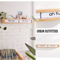 UrbanOutfitters☆Cloudnola Textime Bamboo Wall Clock☆N