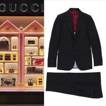 【VIP価格購入】Gucci  Black Two-Piece Suit