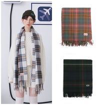 ANOTHER A(アナザーエー) マフラー 日本未入荷ANOTHER AのCheck Shawl Muffler 全3色