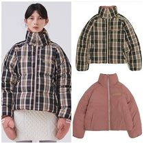 ANOTHER A(アナザーエー) ダウンジャケット・コート 日本未入荷ANOTHER AのReversible Check Down Jacket