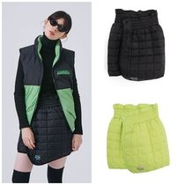 ANOTHER A(アナザーエー) ミニスカート 日本未入荷ANOTHER AのSquare Padded Mini Skirt 全2色