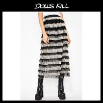 関税/送料込 *DOLLS KILL*LET ME SIN TULLE SKIRT