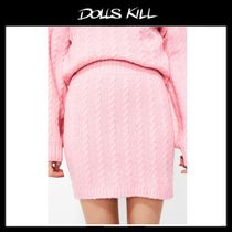 関税/送料込 *DOLLS KILL*BUBBLEGUM POP SWEATER SKIRT