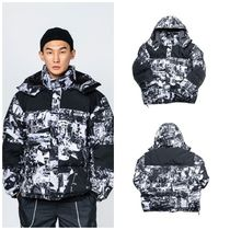 I AM NOT A HUMAN BEING(ヒューマンビーイング) ダウンジャケット I AM NOT A HUMAN BEINGのTORN PICTURES DUCK DOWN JACKET