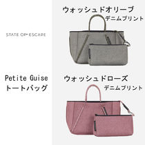 State of escape プチGuiseトート washed olive & washed rose