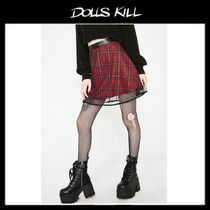 関税/送料込*DOLLS KILL*PLAGIARISM TWO LAYER SKIRT