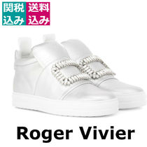 関税込☆ROGER VIVIER☆Sneaky Viv metallic leather スニーカー