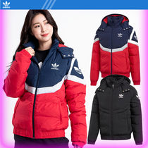 Adidas Originals☆adidas block down jacket/追跡付/UNISEX