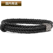 送料関税込☆BOTTEGA VENETA☆Intrecciato Leather Bracelet