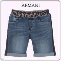 Emporio Armani☆KIDS BOY DENIMショートパンツ blue 4-10Y