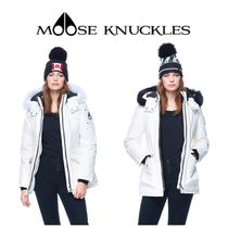 【MOOSE KNUCKLES】☆FIRE RIVER JACKET(SNOW WHITE)