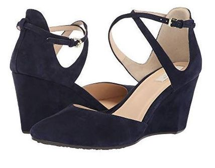 <3色>COLE HAAN Lacey Ankle Strap Wedge (75mm)