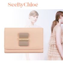 【See by Chloe】大人気 ☆ROSITA☆コンパクトウォレット(NUDE)
