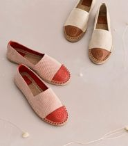 Tory Burch COLOR-BLOCK CANVAS ESPADRILLE エスパドリーユ