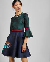 TED BAKER EMILEEN Houdiini mash up skater dress