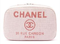 CHANEL DEAUVILLE ポーチ