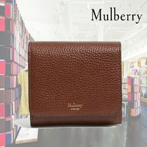 【19SS】Mulberry★Grained leather continental wallet/Brown