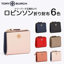 新作 TORY BURCH☆ROBBINSON MINI WALLET☆折り財布 6色