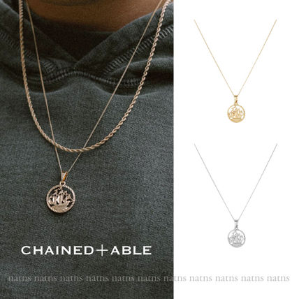 Chained & Able ネックレス・チョーカー 【送料・関税無料】Chained & Able*メダリオンネックレス/2色