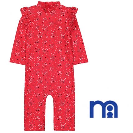 mothercare ベビー水着・ビーチグッズ mothercare  Girls♪3−18M☆Red heart sunsafe