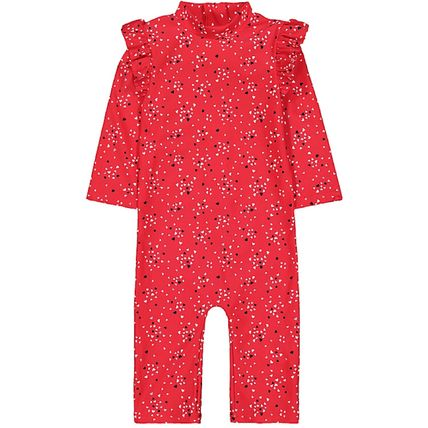 mothercare ベビー水着・ビーチグッズ mothercare  Girls♪3−18M☆Red heart sunsafe(4)