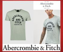 Abercrombie & Fitch ミント アップリケ ロゴ Tシャツ