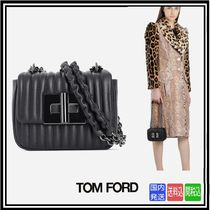 超大特価★送料関税込TOM FORD★LEATHER NATALIA MINI SHOULDER