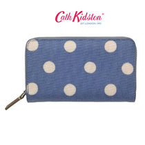 ☆Cath Kidston☆DOUBLE ZIP PURSE TEXTURED☆