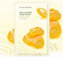 NEW!NATURE REPUBLIC★ Real Nature Mask Sheet RoyalJelly 10枚