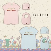 GUCCI◆ヴィンテージロゴ コットン ギフトセット 2色 Pink/Blue