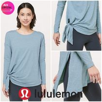lululemon★To The Point Long Sleeve★2Way長袖T★スリット♪