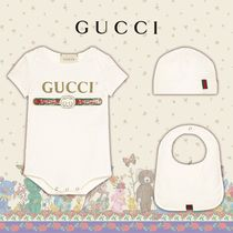 GUCCI◆ギフトに◆ヴィンテージロゴ コットンギフトセット White