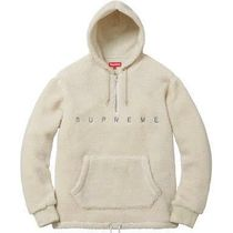 Supreme FW15 Sherpa Fleece Pullover ナチュラル