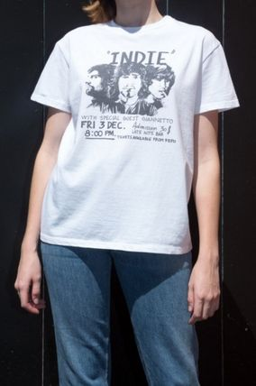 Brandy Melville Tシャツ・カットソー 新作!!☆Brandy Melville☆Marina Indie Band Top(2)