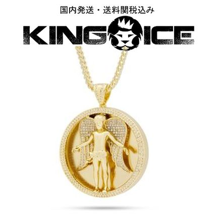 King Ice ネックレス・チョーカー 日本未入荷☆KING ICE☆The Angel Medallion Necklace