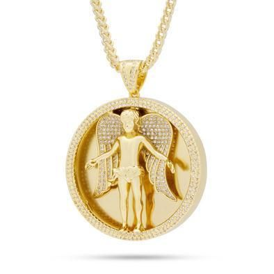 King Ice ネックレス・チョーカー 日本未入荷☆KING ICE☆The Angel Medallion Necklace(2)