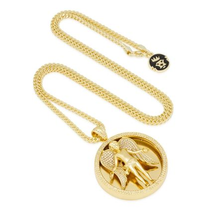 King Ice ネックレス・チョーカー 日本未入荷☆KING ICE☆The Angel Medallion Necklace(4)