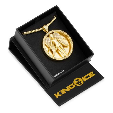 King Ice ネックレス・チョーカー 日本未入荷☆KING ICE☆The Angel Medallion Necklace(5)