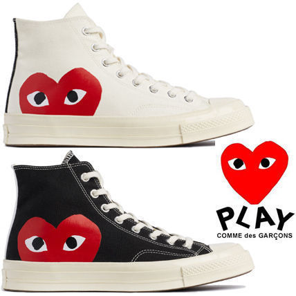 COMME des GARCONS+CONVERSEコラボ★大人気PLAYハートスニーカー