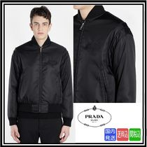 超大特価★送料関税込★PRADA ★ BLACK BOMBER JACKET★SALE