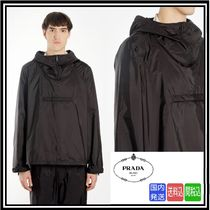 超大特価★送料関税込★PRADA ★BLACK HOODED JACKET★SALE