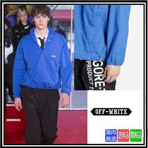 超大特価★送料関税込★OFF-WHITE★HOODED ANORAK WITH HALF ZIP