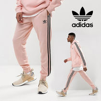 【adidas originals】Superstar Track Pant ・ pink / black