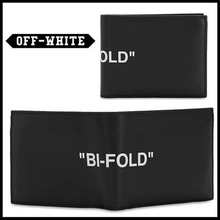 Off-White(オフホワイト) PRINTED LEATHER WALLET 財布