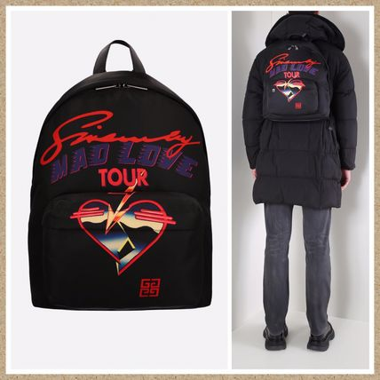 SALE【GIVENCHY】Mad Love Tour プリントナイロン  バックパック