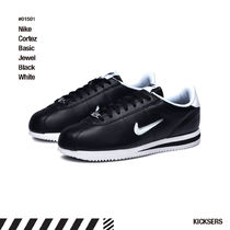 人気話題!Nike Cortez Basic Jewel Black White