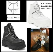 【Naked Wolfe】WICKED レザー 厚底 ダッドスニーカー